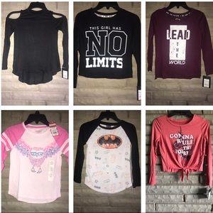 Lot of Girls shirts